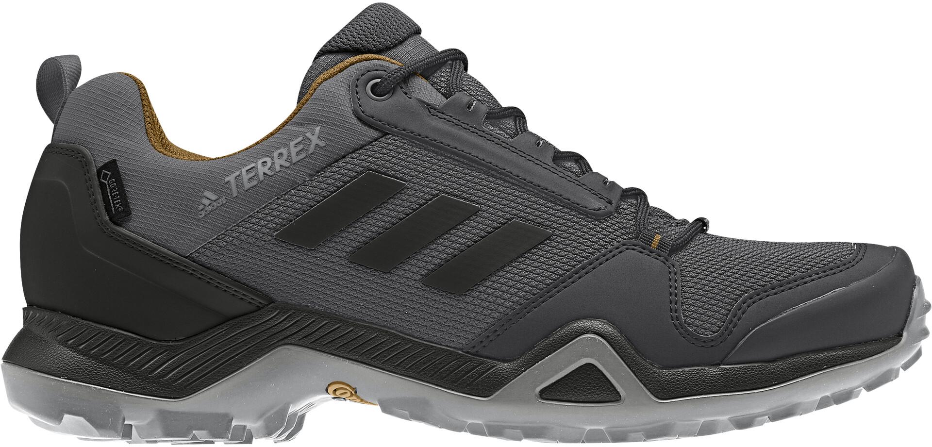 adidas TERREX AX3 Gore Tex Vandresko Vandtæt Herrer, grey fivecore blackmesa